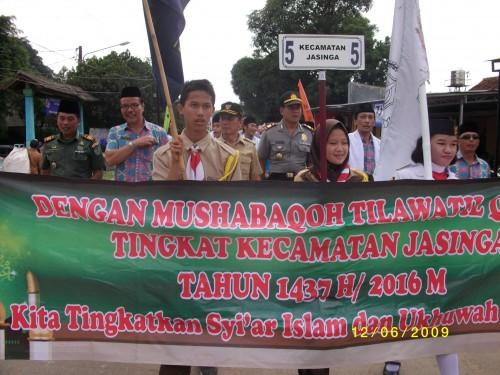 Pawai Ta'aruf Kecamatan Jasinga Di Kecamatan Ciseeng