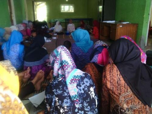 Sosialisasi Pin dan Penyuluhan DBD Desa Koleang - Desa Tegalwangi