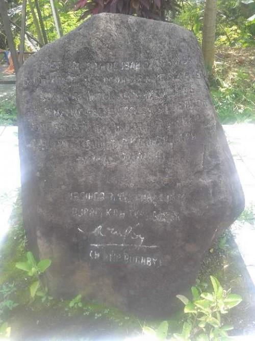 Monumen Kabupaten Bogor Pertama Riwayatmu kini
