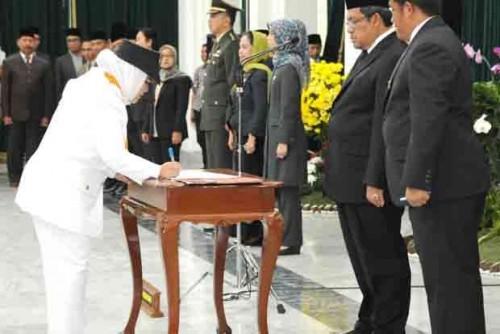 Bupati Janji Tingkatkan Infrastruktur Perbatasan Bogor-Lebak