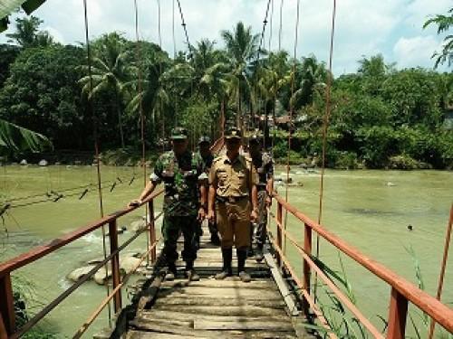 Kondisi Desa Pangradin Pasca Banjir